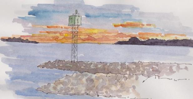 2015-01-11-Falmouth Sunset