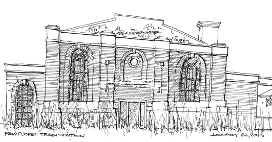2015-01-23-Pawtucket Train Station