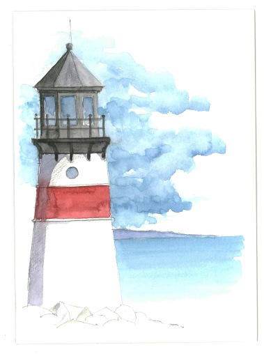 2015-03-12-Birthday Card Lighthouse
