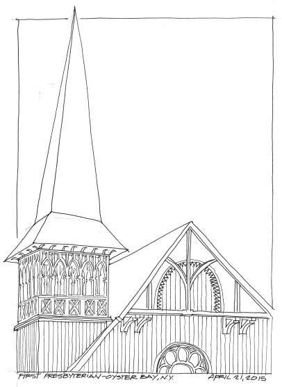 2015-04-21-First Presbyterian Oyster Bay