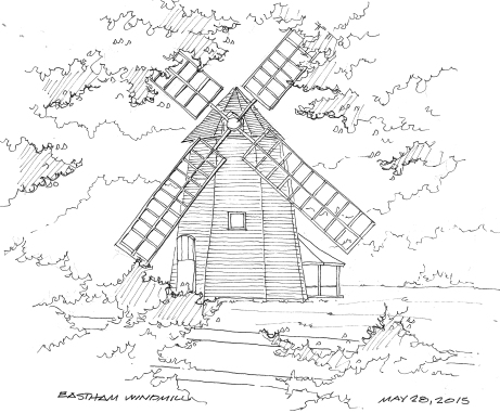 2015-05-28 Eastham Windmill
