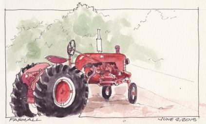 2015-06-02 Farmall Tractor