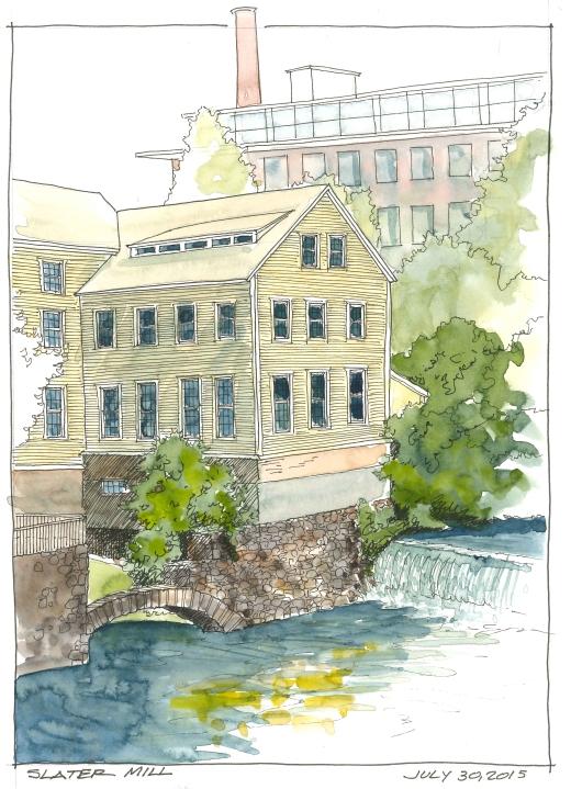 2015-07-30 Slater Mill