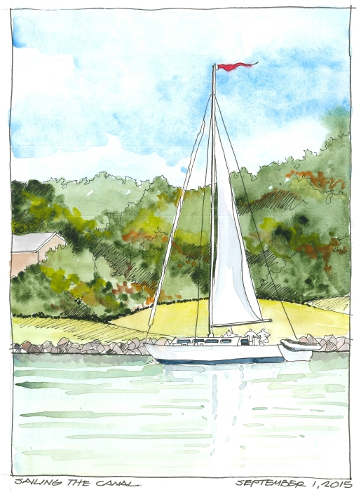2015-09-01 Sailing the Canal