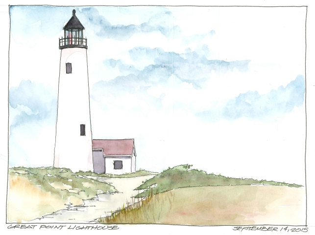 2015-09-14 Great Point Light
