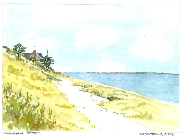 2015-10-04 Chatham Beach
