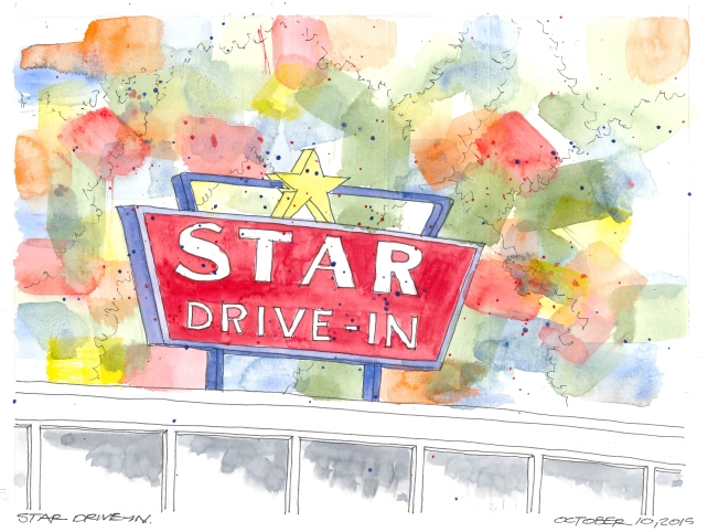2015-10-10 Star Drive in