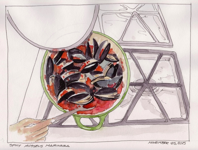 2015-11-25 Spicy Mussels