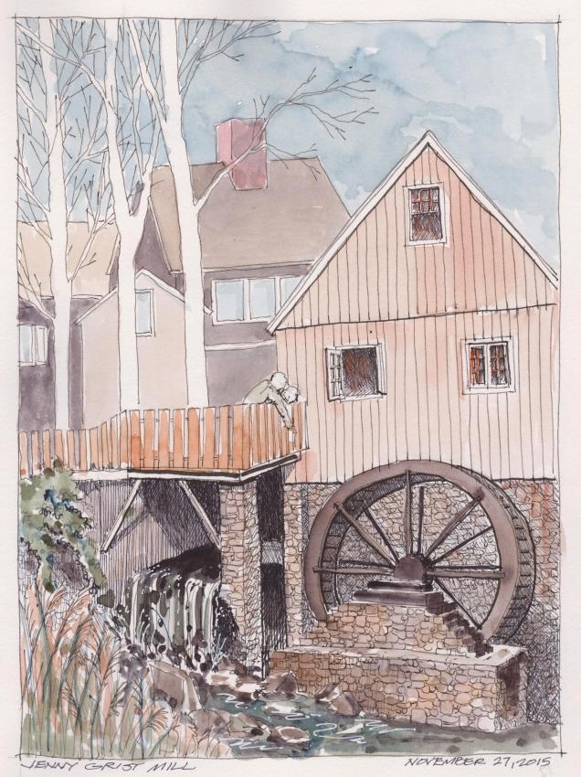 2015-11-27 Jenny Grist Mill