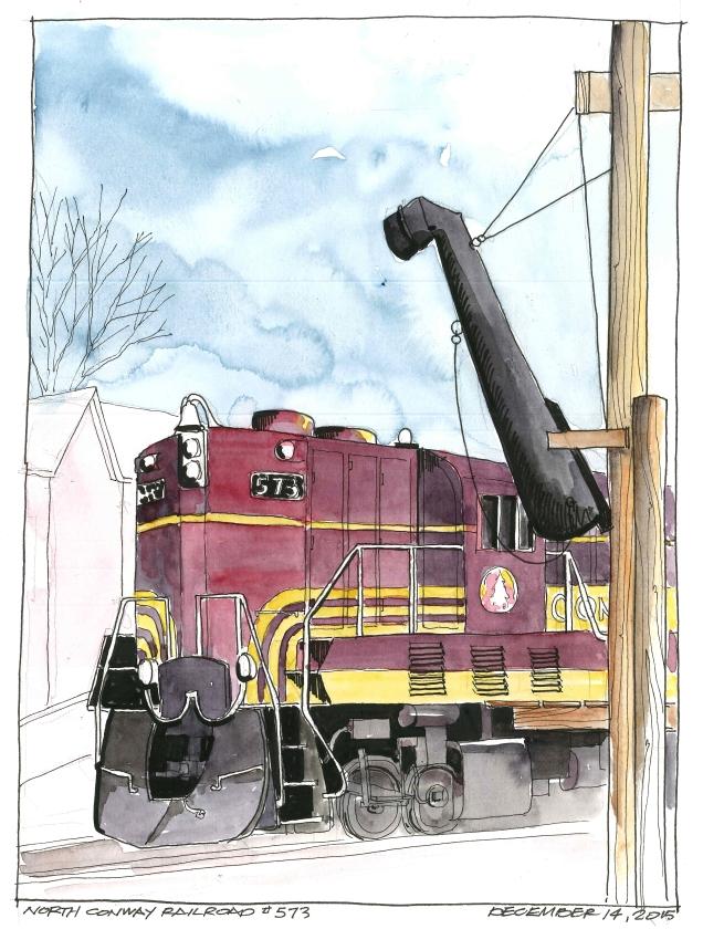 2015-12-14 N Conway Railroad