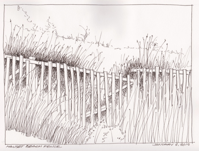 2016-01-02 Nauset Beach Fence