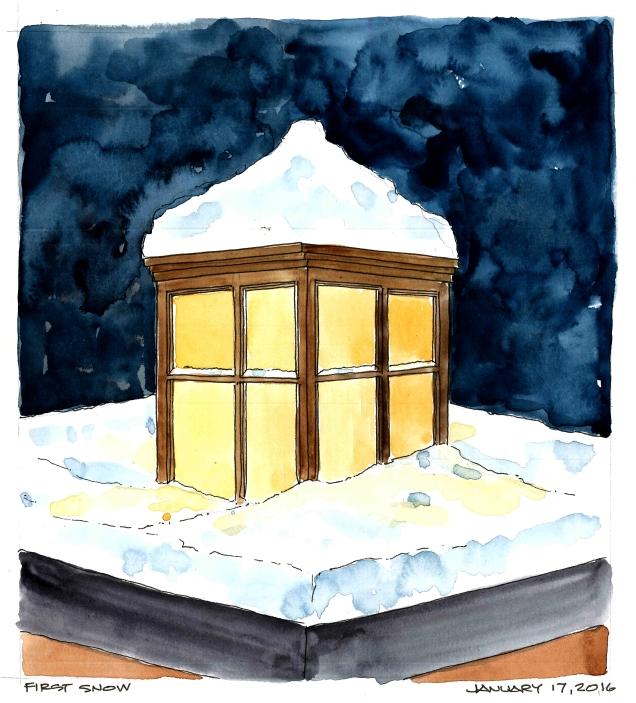 2016-01-17 First Snow