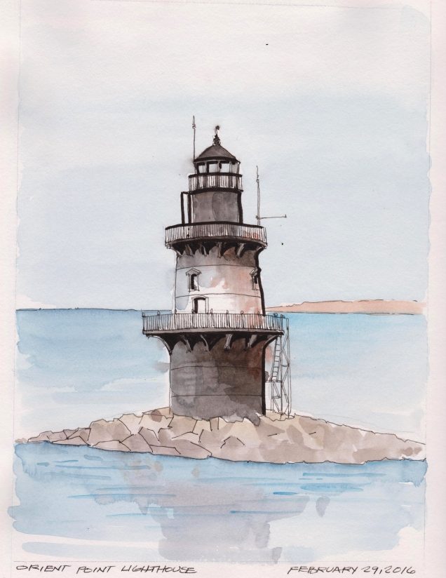 2016-02-29 Orient Point Lighthouse