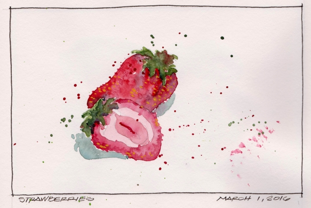 2016-03-01 Strawberries