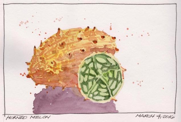 2016-03-04 Horned Melon