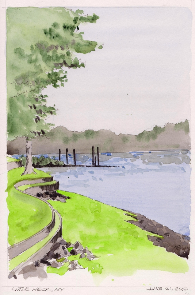 2016-06-21 Little Neck Shoreline