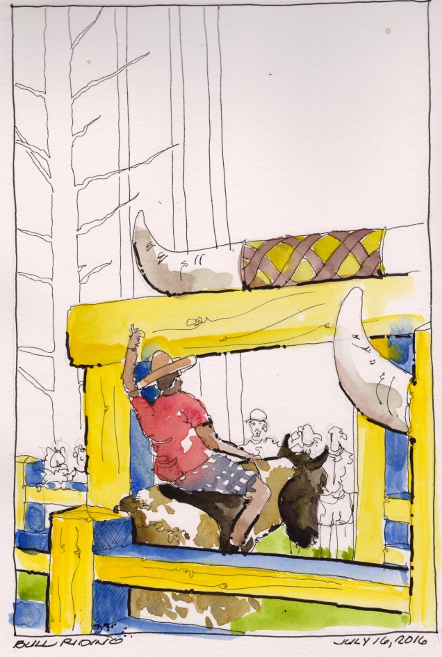 2016-07-16 Bull Riding