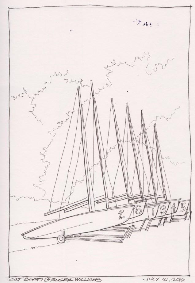 2016-07-21 Cat Boats